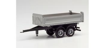 HO 1:87 Herpa # 76975 - 2-Axle Pup Tipper Dump Trailer