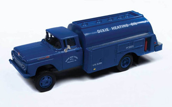 HO 1:87 Classic Metal # 30553 - '60 Ford Tank Truck - Dixie Gas Corp.