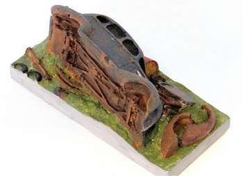 HO 1:87 Sylvan Scale Models # 1120 -Hudson Wrecked Junk Car KIT