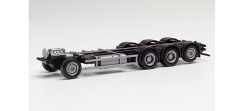 HO 1:87 Herpa # 85182 Scania LKW CR/CS 4-axle Chassis Only (2 units) KIT