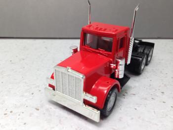 HO 1:87 Promotex # 15285 Peterbilt Short Tandem Axle Tractor - Red