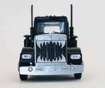 HO 1:87 Promotex # 466327 KW W-900 Short Tractor w/Growler Grill - Black