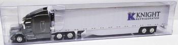 HO 1:87 TNS # 108 - Peterbilt 579 Sleeper Cab w/53' Reefer Van - Knight Refrigerated