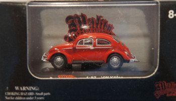 HO 1:87 Malibu 107 - Volkswagon Kafer - Red