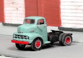 HO 1:87 Sylvan Scale Models # V-327 - 1952 Ford COE 2-Ton Tractor KIT