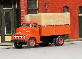 HO 1:87 Sylvan Scale Models # V-331 - 1952 Ford COE Stake Truck KIT