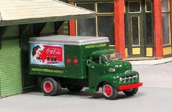 HO 1:87 Sylvan Scale Models # V-333 - 1952 Ford COE Railway Express Truck KIT