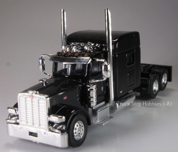 HO 1:87 TSH # 504 Peterbilt 389 Tandem Axle Tractor - Black