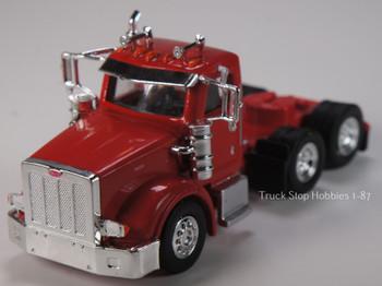 HO 1:87 TSH # 511 Peterbilt 367 Tandem Axle Tractor - Heavy Haul - Viper Red