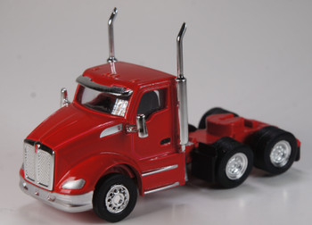 HO 1:87 TSH # 681 Kenworth T-680 Day Cab Tandem Axle Tractor - Viper Red