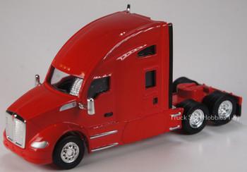 HO 1:87 TSH # 691 Kenworth T-680 Sleeper Cab Tandem Axle Tractor - Viper Red