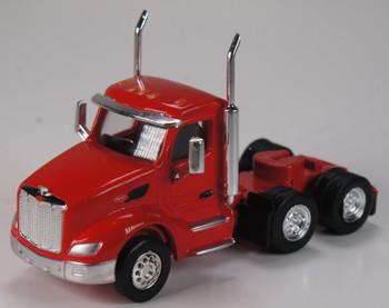HO 1:87 TSH # 531 Peterbilt 579 Day Cab Tandem Axle Tractor - Viper Red