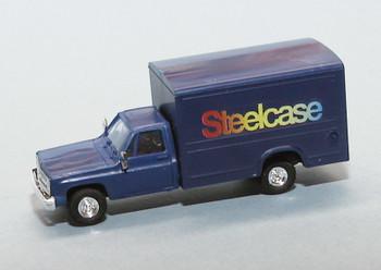 HO 1:87 Trident # 90346 Chevy 1-Ton Van Box - Steelcase