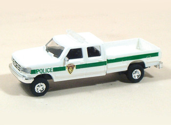 HO 1:87 Trident # 90208 Ford 4x4 Pickup - State Park Police