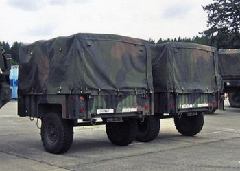 HO 1:87 Trident # 87089 US Army - M1101 High Mobility 3/4-Ton Cargo Trailer KIT
