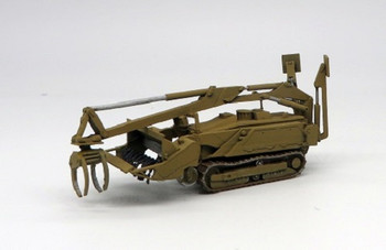 HO 1:87 Trident # 87194A - M160 Tracked Robotic Mine Clearing Vehicle - Flail (Green) KIT