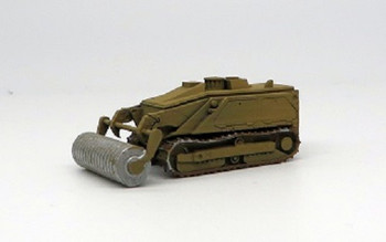 HO 1:87 Trident # 87195 - M160 Tracked Robotic Mine Roller Auger (beige) KIT