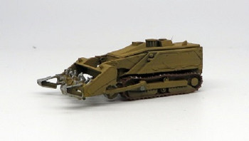 HO 1:87 Trident # 87195A - M160 Tracked Robotic Mine Clearing Vehicle - Auger (green) KIT