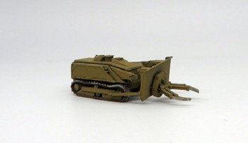 HO 1:87 Trident # 87196 - M160 Tracked Robotic Mine Gripper (beige) KIT