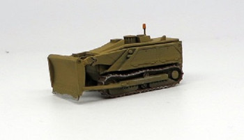 HO 1:87 Trident # 87196A - M160 Tracked Robotic Mine Clearing Vehicle - Dozer Blade (white) KIT