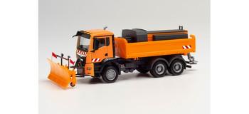 HO 1:87 Herpa # 312578 MAN TGS NN Snow Plow/Winter Service Truck