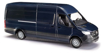 HO 1:87 Busch # 52602 - 2014 Mercedes-Benz Sprinter Long-Wheelbase High-Roof Cargo Van - Blue