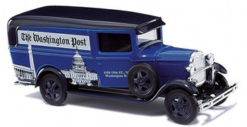 HO 1:87 Promotex # 6547 Ford AA Delivery Van (1928-1932) - Washington Post
