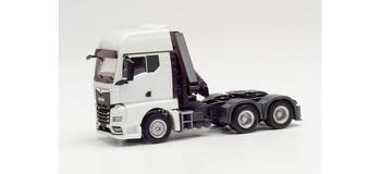 HO 1:87 Herpa # 313100 MAN TGX w/Hoist Tractor - White