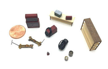 HO 1:87 Showcase Miniatures 2333 Garage Shop Details KIT