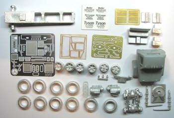 HO 1:87 Showcase Miniatures 3002 GMC 9500 - 1970's  Short Hood Tractor KIT