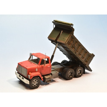 HO 1:87 Showcase Miniatures 3005 - 80's GMC Brigader Dump Truck KIT