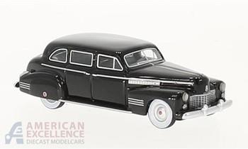 HO 1:87 BOS # 87440 - 1941 Cadillac Fleetwood 75 Touring Sedan, Black