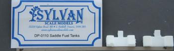 HO 1:87 Sylvan Scale Models # DP-0110 Saddle Fuel Tanks (2 pcs.)