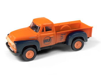 HO 1:87 Classic Metal # 30594 - 1954 Ford Pickup - Gulf Oil