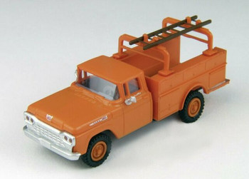 HO 1:87 Classic Metal # 30464- 1960 Ford F-100 Utility Truck