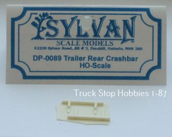 HO 1:87 Sylvan # DP-0089 Trailer Rear Crash Bar - Step (2 pcs.) KIT