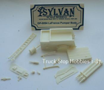 HO 1:87 Sylvan # DP-0094 LaFrance Fire Pumper Body w/Details KIT