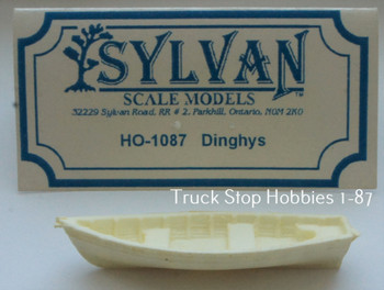 HO 1:87 Sylvan # HO-1087 Dinghy Boat KIT
