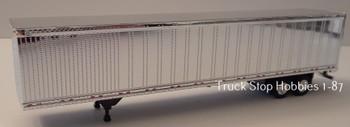 HO 1:87  TSH # 190 -  53' Chrome Dry Van Great Dane Trailer only