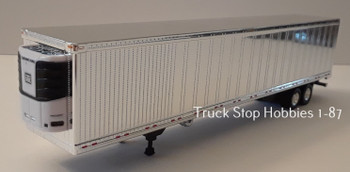 HO 1:87  TSH # 191 -  53' Chrome Freezer Van Great Dane Trailer only