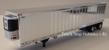 HO 1:87  TSH # 193 -  53' Chrome Freezer Van Great Dane Spread Axle Trailer