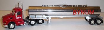 HO 1:87 TNS # 047  Peterbilt 579 Day Cab  w/ Chemical Tanker - Bynum