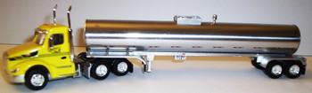 HO 1:87 TNS # 052  Peterbilt 579 Day Cab  w/Food Grade Tanker - Cherokee Freight Lines