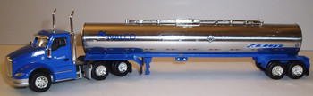 HO 1:87 TNS # 049 Kenworth T-680 Day Cab  w/Chemical Tanker - Nalco