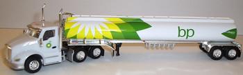 HO 1:87 TNS # 100 Kenworth T-680 Day Cab  w/Gasoline Tanker - B.P.