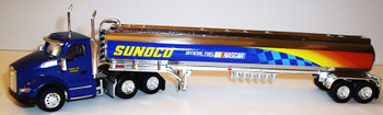 HO 1:87 TNS # 101 Kenworth T-680 Day Cab  w/Gasoline Tanker - Sunoco