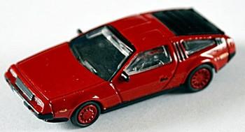HO 1:87 NPE Showcars 88002.2 DeLorean - Red