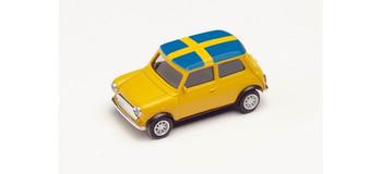 HO 1:87 Herpa # 420723 Mini Cooper, 2021 Euro Championship - Sweden
