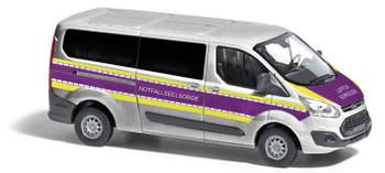 HO 1:87 Busch # 52425 - Ford Transit Custom Bus, Emergency Chaplaincy