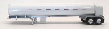 HO 1:87 TON 95006 Cryogenic Tanker Trailer Only - White Body/Silver Frame